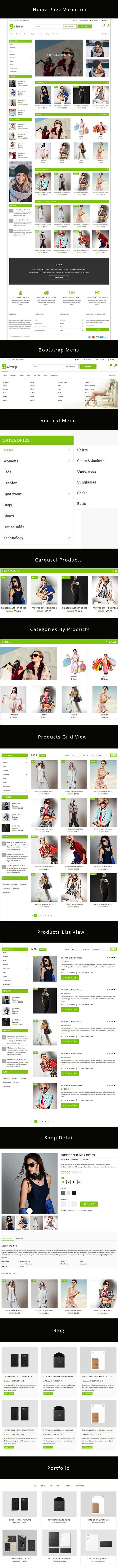 GiftShop Bootstrap HTML5 eCommerce Template - 1